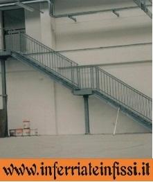Scale da esterno inferriate infissil fabbro - Scale da esterno in ferro ...